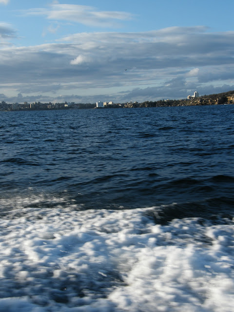 View towards Manly from Sydney harbour