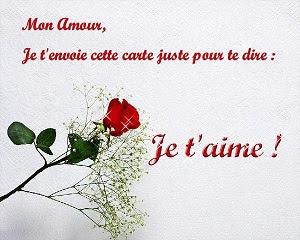 Lettre d'amour gratuite 1