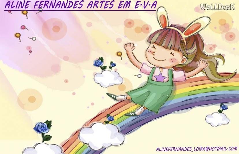 Aline Fernandes Artes em E.V.A