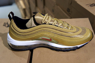 These classic golden Nike Air Max was first released back in 1997 and are  now being sold exclusively to The House of Brands JELMOLI - Leading Premium  ...
