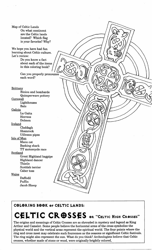 Cross coloring page, christian coloring picturing