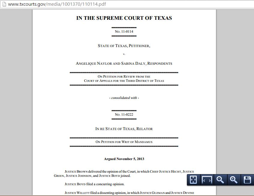Texas Supreme Court Split On Ags Appeal Of Same Sex Divorce Decree