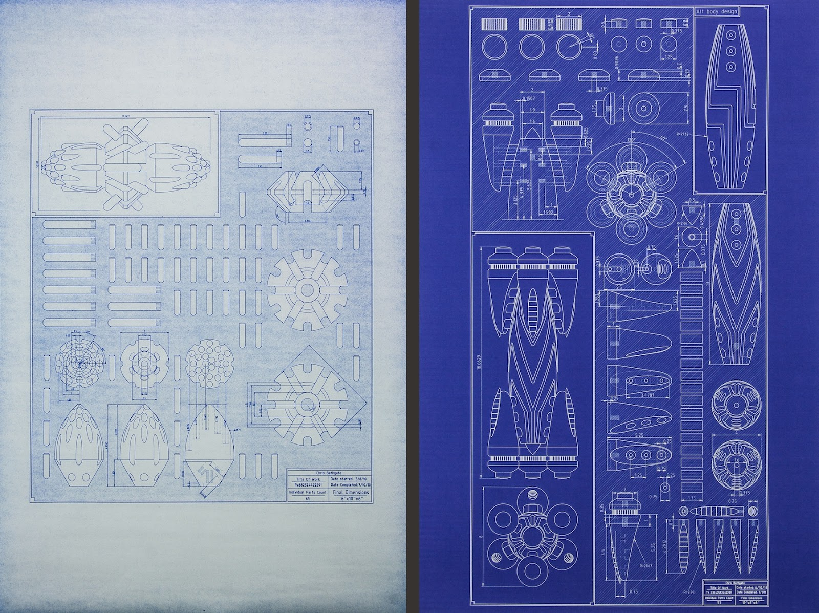 My sculpture blog blueprint drawings i really like the idea of having a single physical master hard copy of my drawings there is a certain finality to it that having a digital file just cant malvernweather Images