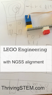 Here's a beginner Lego engineering project that's fun enough to do at home, and aligned to NGSS standards for school.