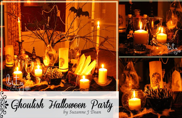 Ghoulish delight bitz of me for How to have a great halloween party