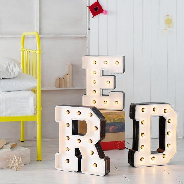 Decorar con letras XXL DIY La Garbatella blog de decoracin