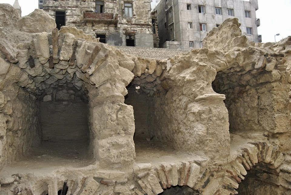 Αρχαιολογικός χώρος της ελληνιστικής περιόδου κατεδαφίστηκε στην Αλεξάνδρεια