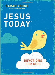 Wee Read Wednesday: Jesus Today Devotions for Kids {Giveaway ends 2/1}