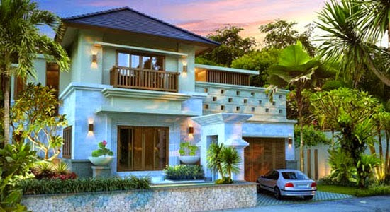 balinese exterior home design - Bali Home Designs
