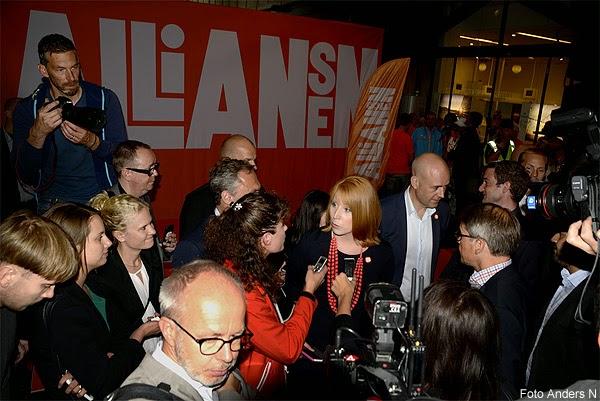 Alliansen, Göteborg, Fredrik Reinfeldt, Nya Moderaterna, Göran Hägglund, Kristdemokraterna, Kd, Annie Lööf, Centerpartiet, Centern, Jan Björklund, Folkpartiet, Fp