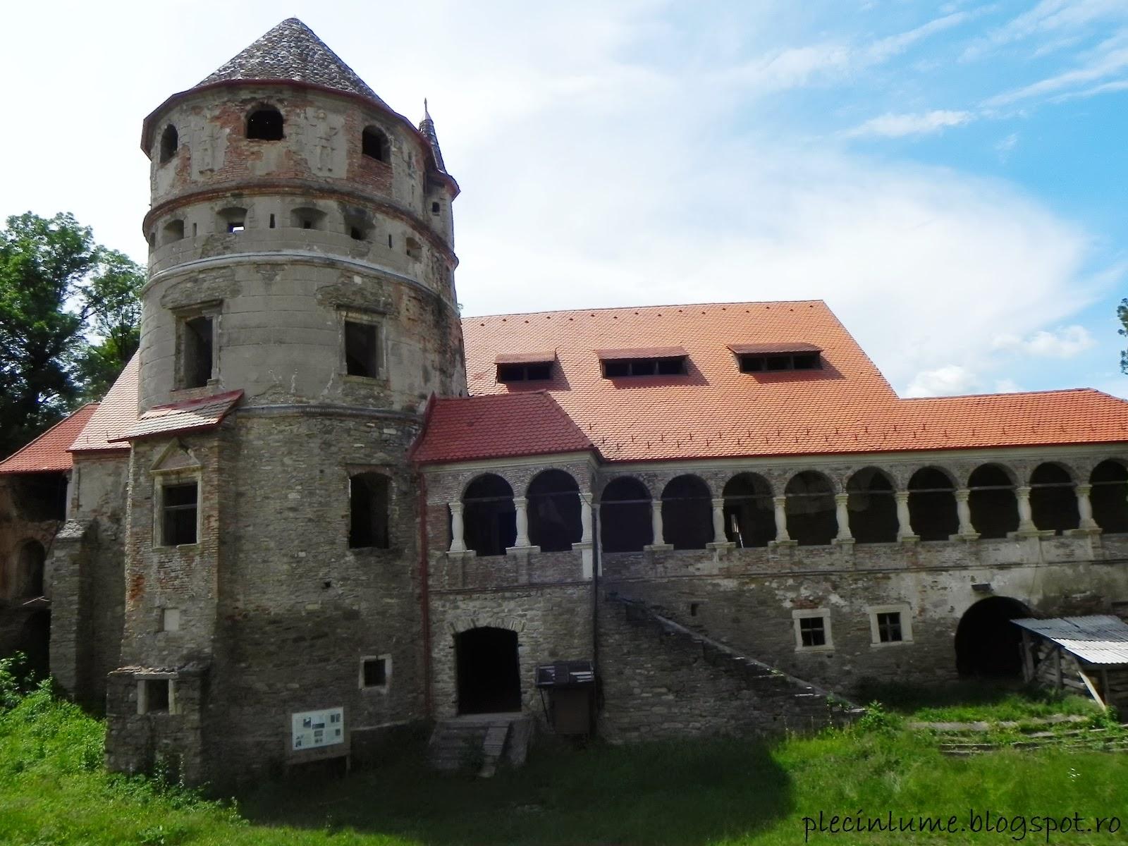 Cealalta aripa a castelului Bethlen