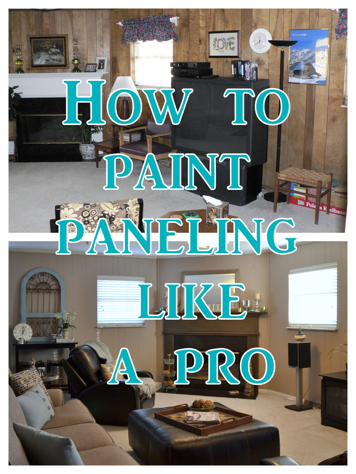 Tutorial: How to Paint Paneling Like a Pro - Tutorial: How To Paint Paneling Like A Pro - Postcards From The Ridge