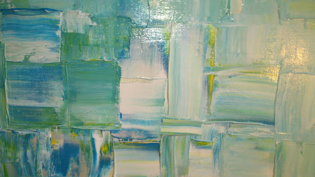Vedic Art blå färger