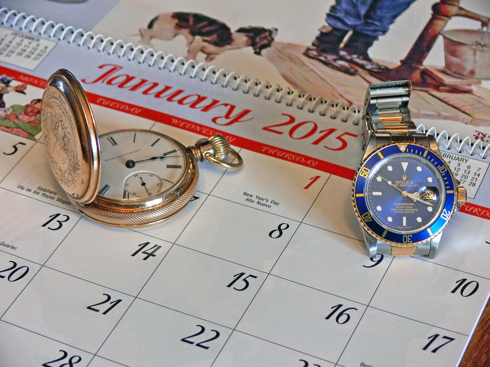 Time & again ....