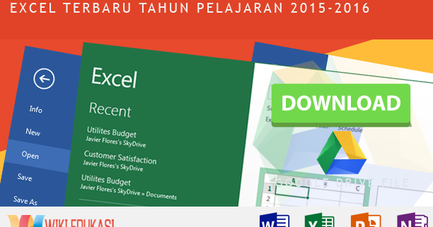Aplikasi Raport Sma Kurikulum 2013 Format Excel Terbaru
