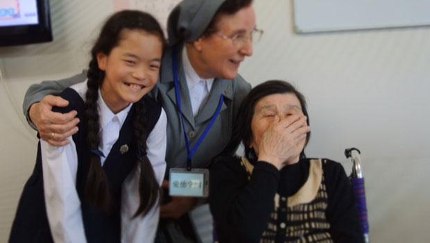 Misioneros de la misericordia en Japón