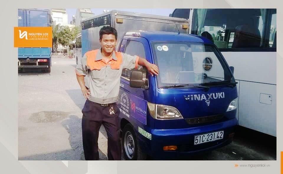 Loại xe tải 500kg - Vinaxuki