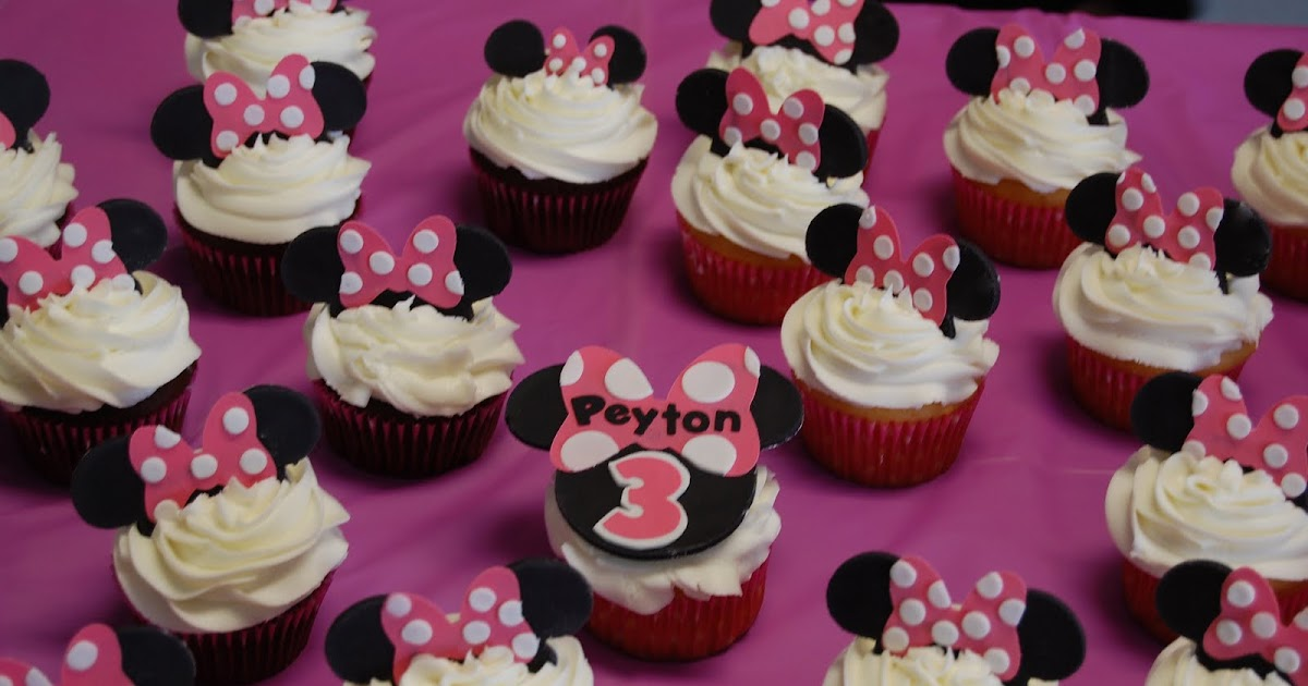Cakefilley Minnie Mouse Cupcakes