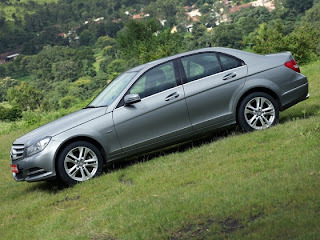 new mercedes benz c220 on terrain