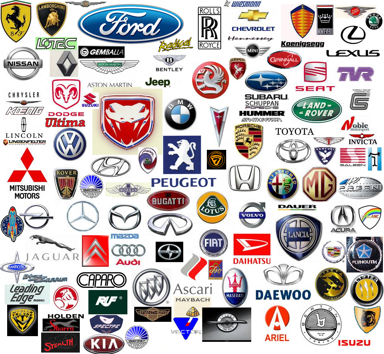 Car Logo Ideas - Car signs and namescar logos with wings azs cars
