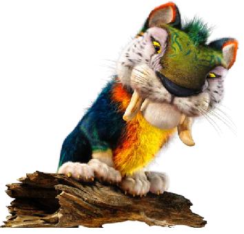 gros chat disant illustration de dessin anim Image