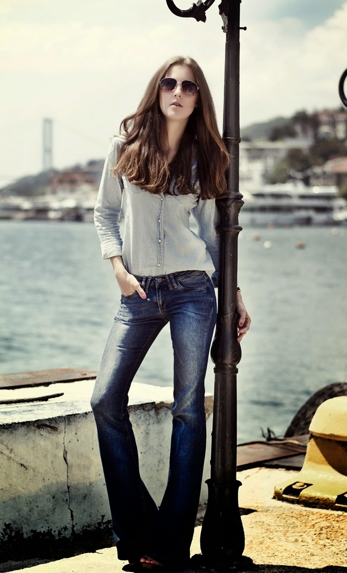 outfit jeans zampa