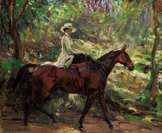 Alfred Munnings' painting
