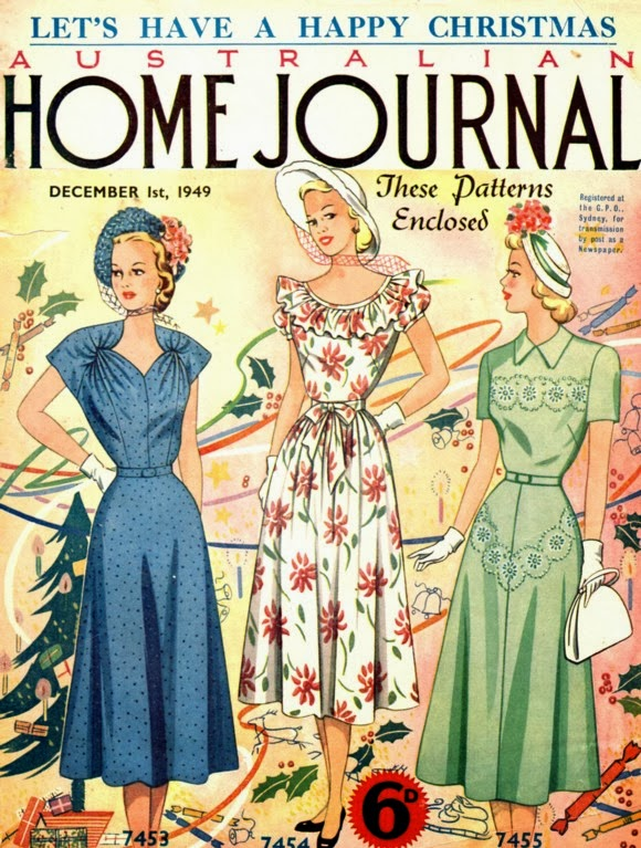 katiecrackernuts.blogspot.com || Australian Home Journal December 1949