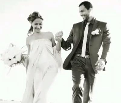 Foto matrimonio Brice Martinet e Elena Falbo