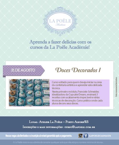 Curso Doces Decorados I - 31/08
