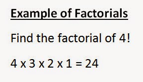 example of factorials