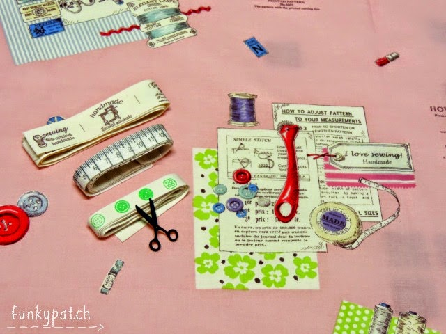 Materiales para funda de tela para carpetas