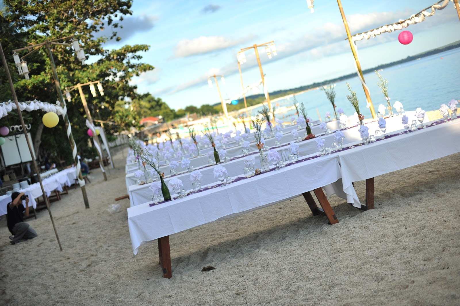 La luz beach wedding