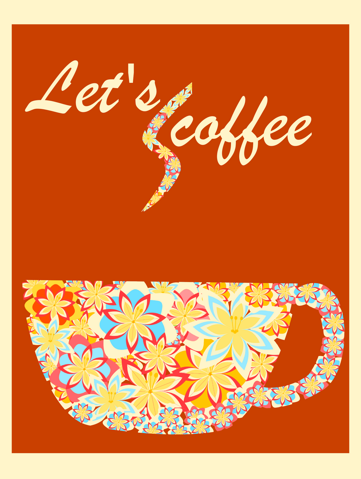 lets coffee card