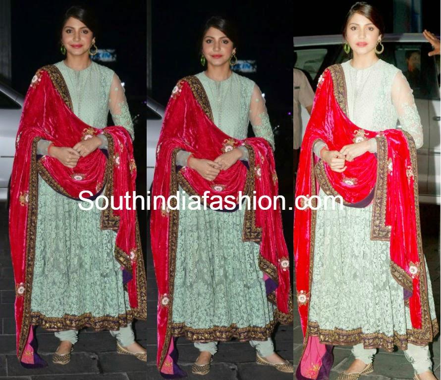 Anushka Sharma at Shirin Morani-Uday Singh Wedding Reception