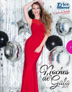 Catalogo virtual Price shoes vestidos de fiesta 2015