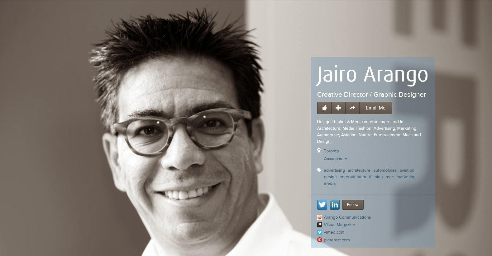 An image of Jairo Arango, Creative Director & Graphic Designer