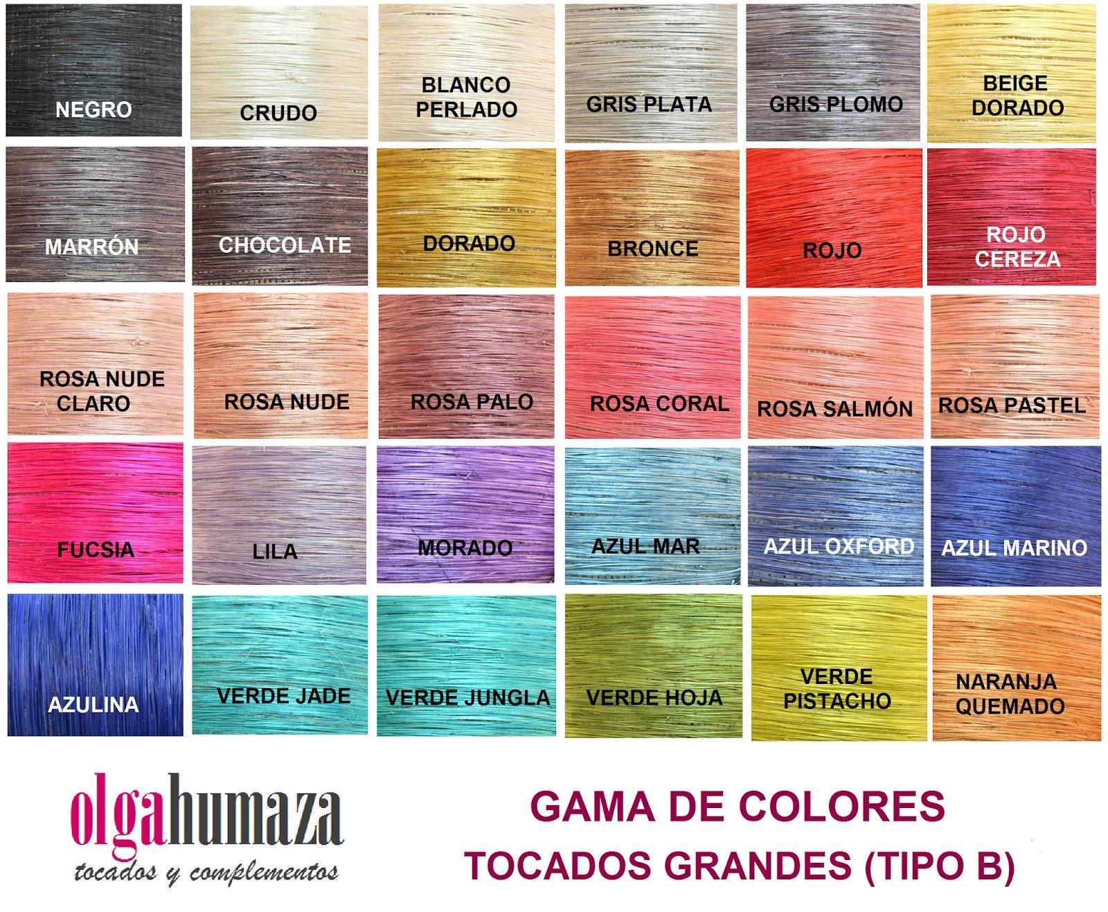Olga humaza tocados y complementos tocado gris - Colores que combinan con gris ...