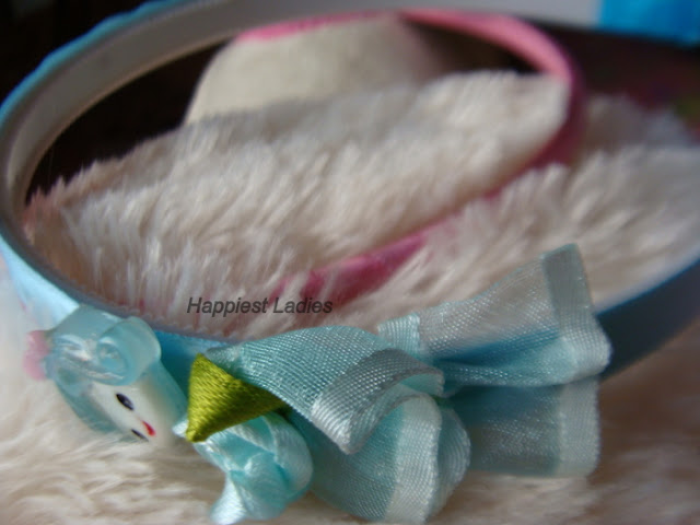 Blue Baby girl hair band+want a girl baby+hair accessory