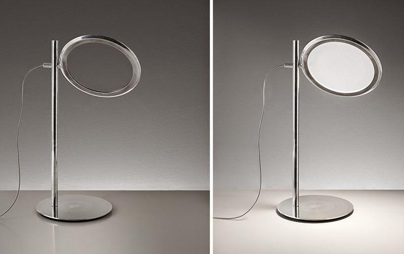 Arredo in discovery di ernesto gismondi lampade moderne for Lampade da tavolo di design moderne