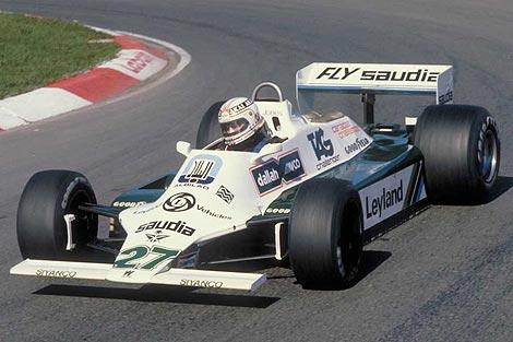 Equipe Williams de Formula 1 de  1980 - grandprixweb.blogspot.com