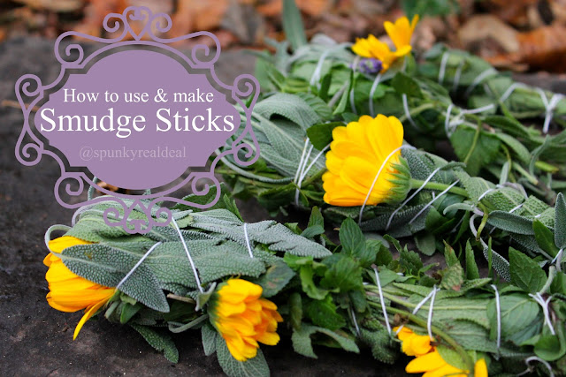 How to Make & Use a Smudge Stick