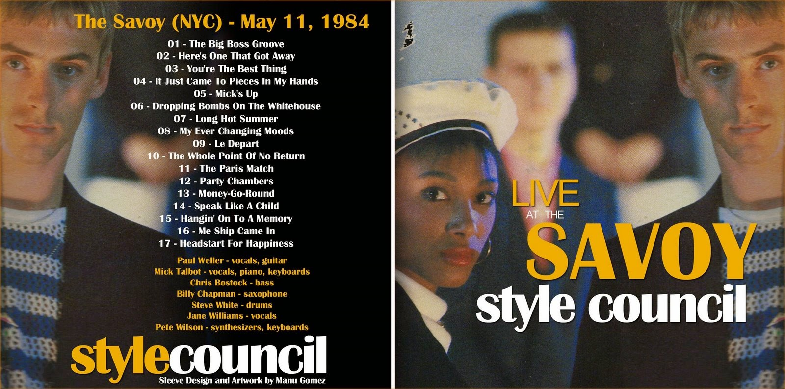 The Style Council My Ever Changing Moods