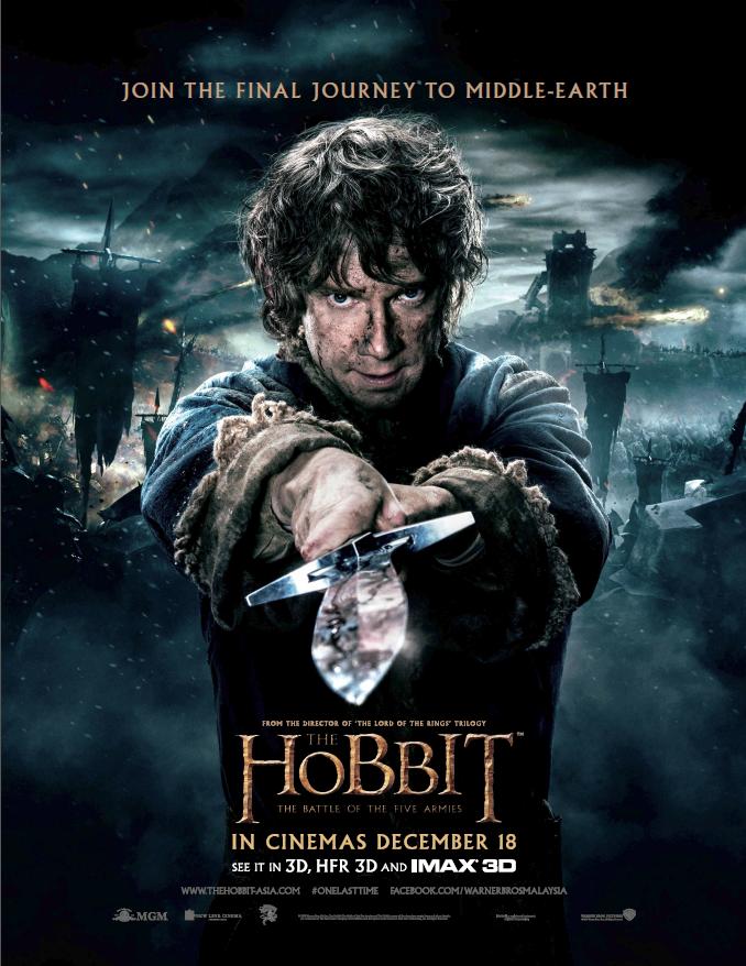 """THE HOBBIT"" 2014 MOVIE: BATTLE OF THE FIVE ARMIES"