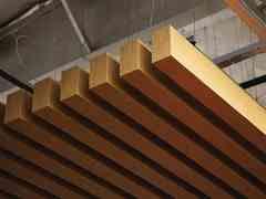 Ceilings plus arboreal panels - Wood slat ceiling system ...