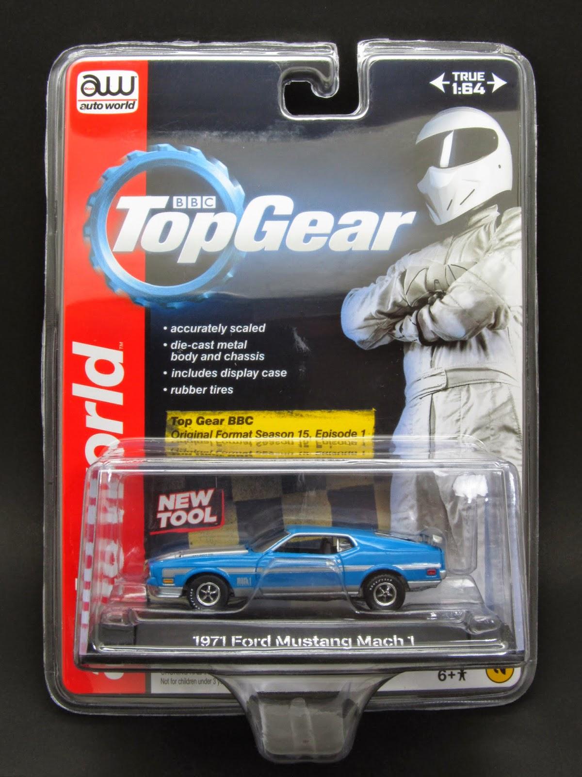 diecast hobbist  1971 ford mustang mach 1   top gear