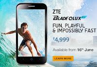 Buy ZTE Blade Qlux 4G at Price Drop Rs.3679