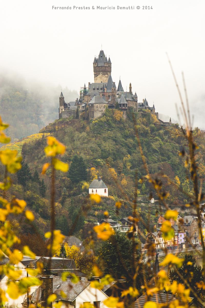 Castelo de Reichsburg em Cochem