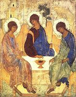Imágens da Missa Solene da Santíssima Trindade