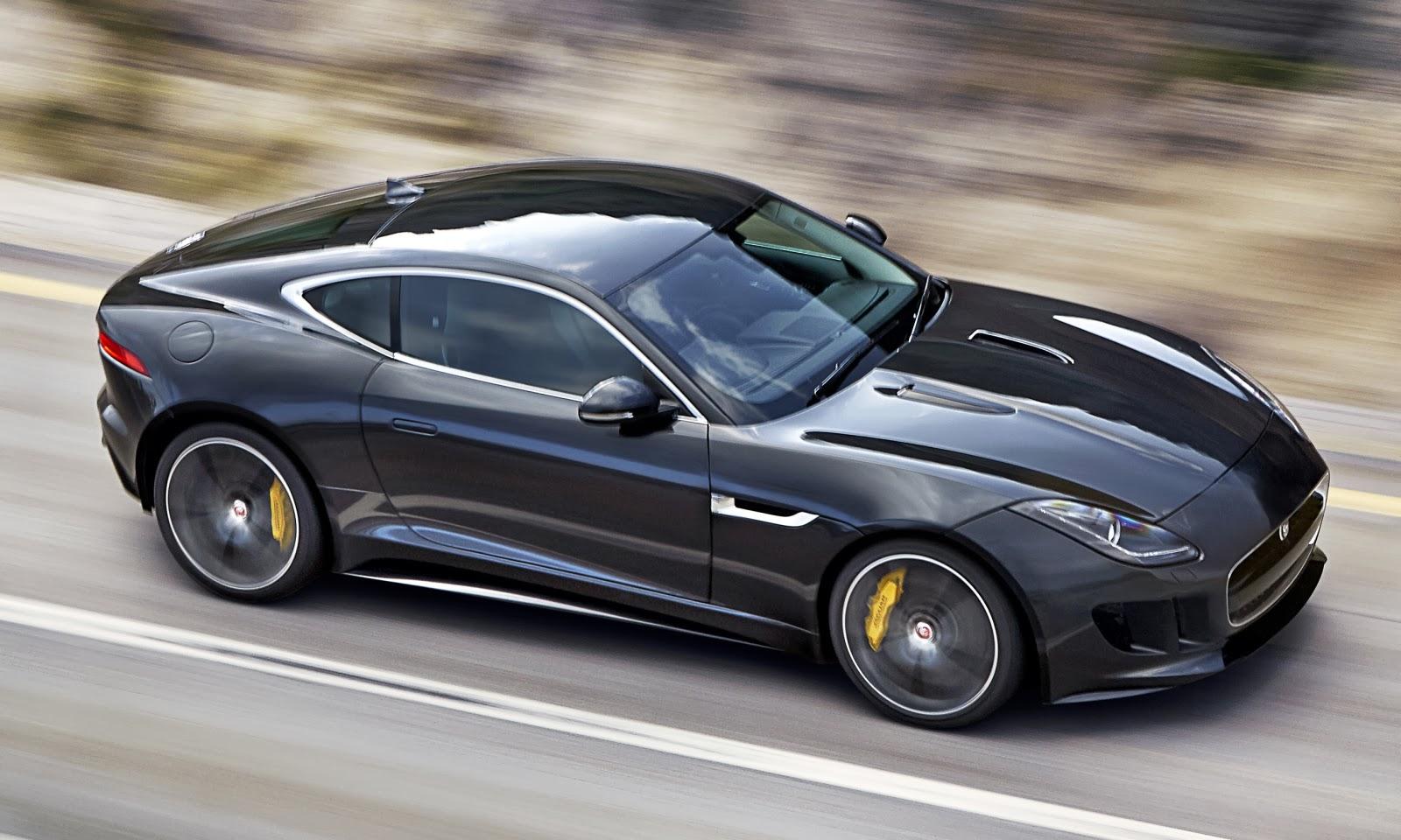 Papel De Parede: Jaguar F Type R Coupé 2015